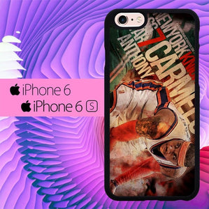 NBA Star Carmelo Anthony L1968 hoesjes iPhone 6, iPhone 6S