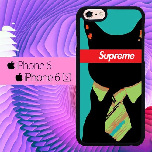 Supreme Cat Bussiness L2004 hoesjes iPhone 6, iPhone 6S