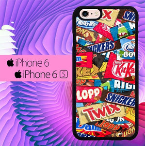 Snack Wallpaper L2934 hoesjes iPhone 6, iPhone 6S
