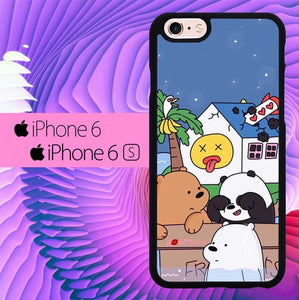 We Bare Bears L2942 hoesjes iPhone 6, iPhone 6S