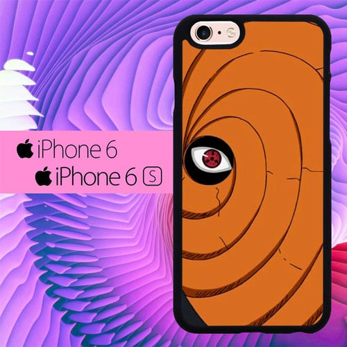Toby Mask Naruto Hokage L3030 hoesjes iPhone 6, iPhone 6S