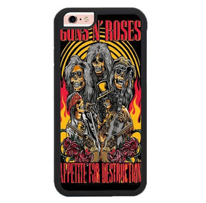 Gun N Roses Appetitie For Destruction L3035 hoesjes iPhone 6, iPhone 6S
