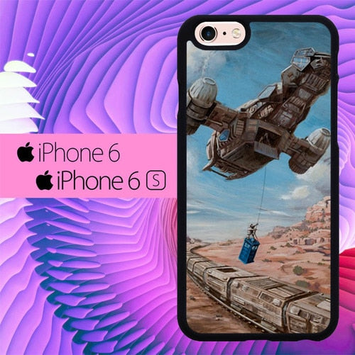Time Job Firefly Tardis Doctor Who L3040 hoesjes iPhone 6, iPhone 6S
