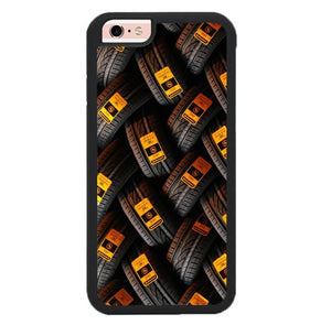 Continentgal Tire Pattern L3062 hoesjes iPhone 6, iPhone 6S