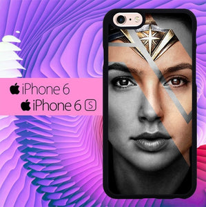 Wonder Woman Wallpaper2 L3071 hoesjes iPhone 6, iPhone 6S