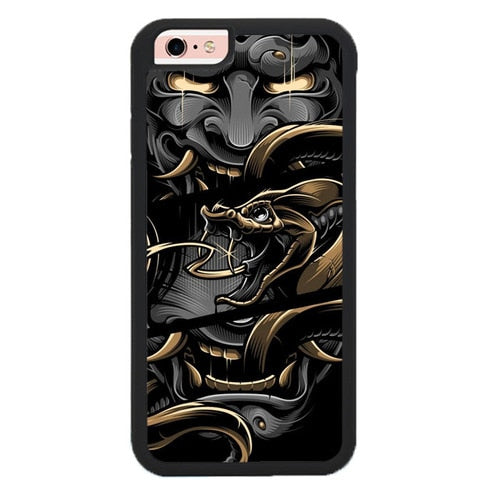 Blackout Brother Hannya L3076 hoesjes iPhone 6, iPhone 6S