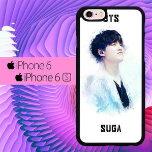 BTS Suga L3090 hoesjes iPhone 6, iPhone 6S