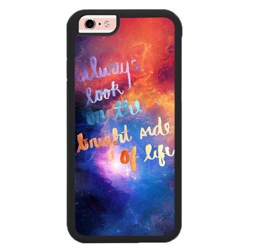 Always Look On The Bright Side L3098 hoesjes iPhone 6, iPhone 6S
