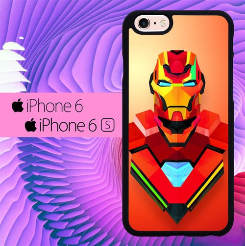 Iron Man L3256 hoesjes iPhone 6, iPhone 6S
