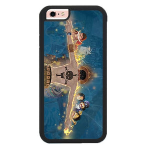 Portgas D Ace Luffy L3257 hoesjes iPhone 6, iPhone 6S