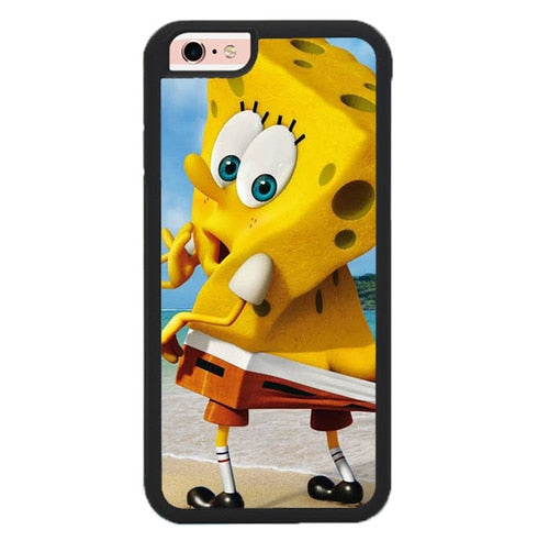 Spongebob Ripped Pants L3266 hoesjes iPhone 6, iPhone 6S