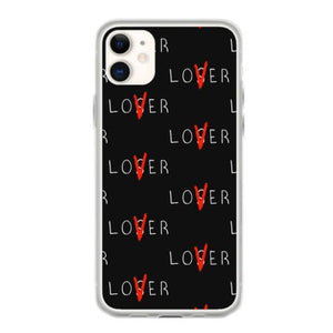lover not loser white iphone 11 hoesjes