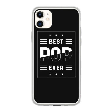 man best pop ever gift father s day funny dad iphone 11 hoesjes