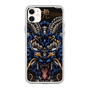 mythical tiger iphone 11 hoesjes