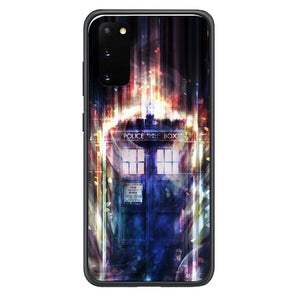 doctor who tardis in space Y0796 Samsung Galaxy S20, S20 hoesjes 5G