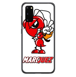 Honda Wing Logo Marquez 93 W5022 Samsung Galaxy S20, S20 hoesjes 5G