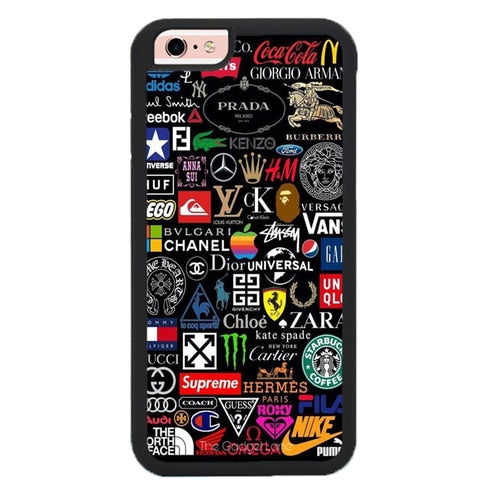 brand pattern W9224 hoesjes iPhone 6, iPhone 6S