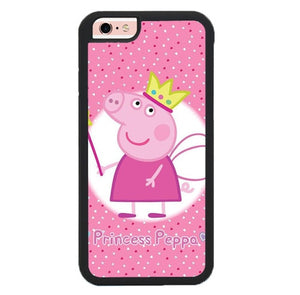 Peppa pig W9289 hoesjes iPhone 6, iPhone 6S