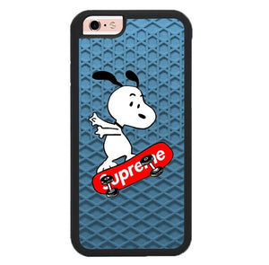 snoopy supreme W9375 hoesjes iPhone 6, iPhone 6S