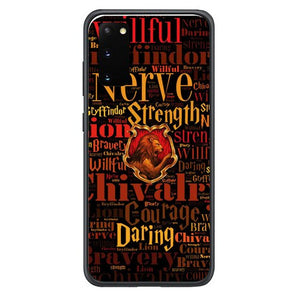 Harry Potter Gryffindor QUOTES Y1674 Samsung Galaxy S20, S20 hoesjes 5G