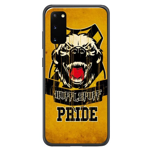 hufflepuff honey badger Y2039 Samsung Galaxy S20, S20 hoesjes 5G