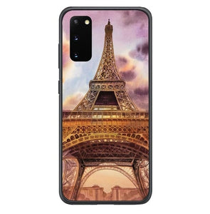 Eiffel Painting of Paris Y2145 Samsung Galaxy S20, S20 hoesjes 5G