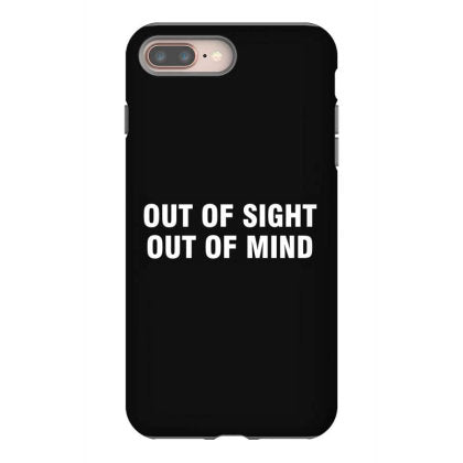 out of sight out of mind white iphone 8 plus hoesjes