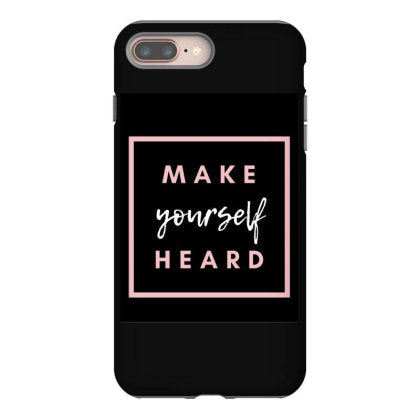 pink bold health and wellness iphone 8 plus hoesjes