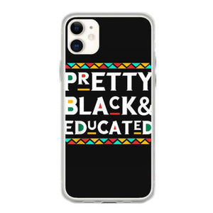 pretty black educated african american iphone 11 hoesjes