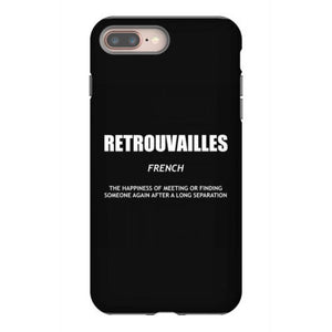 retrouvailles literary t shirt definition shirt french shirt trvl iphone 8 plus hoesjes