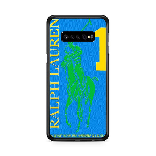 Polo Ralph Lauren Big Pony 1 Blue Parfume Samsung Galaxy S10 Plus hoesjes