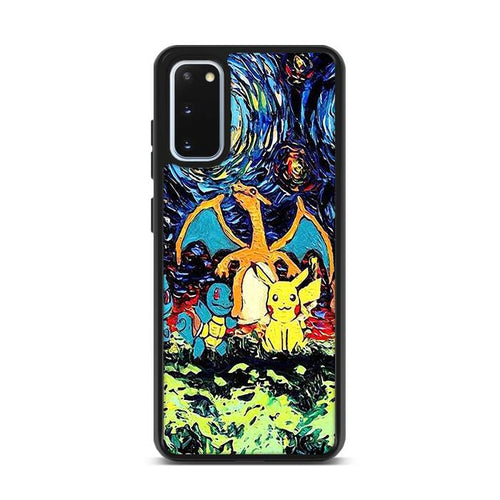 Pokemon Starry Night Samsung Galaxy S20 Plus hoesjes