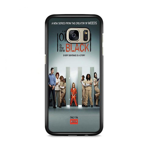 Orange is The New Black Samsung Galaxy S7 Edge hoesjes