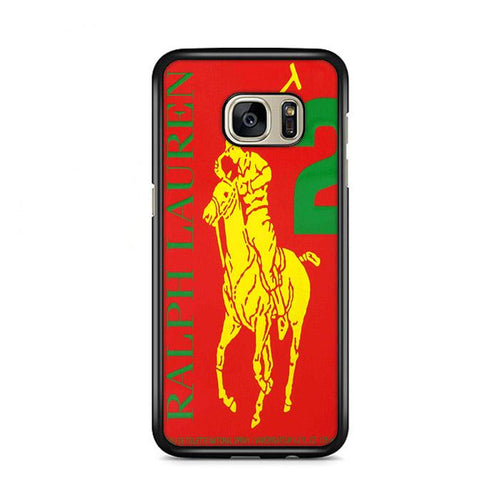 Polo Ralph Lauren Big Pony 2 Red Parfume Samsung Galaxy S7 Edge hoesjes
