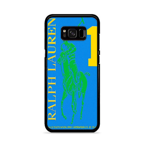 Polo Ralph Lauren Big Pony 1 Blue Parfume Samsung Galaxy S8 hoesjes