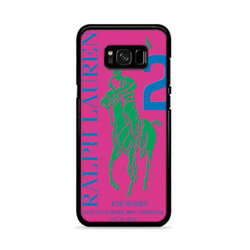 Polo Ralph Lauren Big Pony 2 Pink Parfume Samsung Galaxy S8 Plus hoesjes