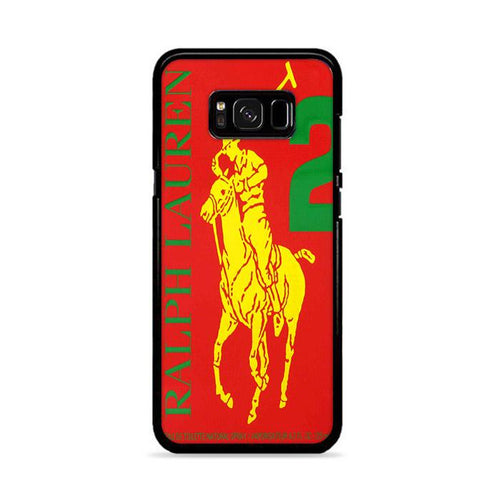 Polo Ralph Lauren Big Pony 2 Red Parfume Samsung Galaxy S8 hoesjes