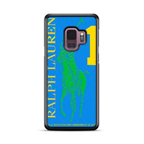 Polo Ralph Lauren Big Pony 1 Blue Parfume Samsung Galaxy S9 Plus hoesjes