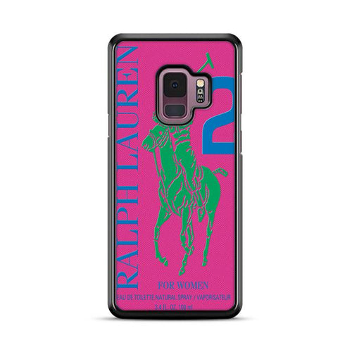 Polo Ralph Lauren Big Pony 2 Pink Parfume Samsung Galaxy S9 Plus hoesjes
