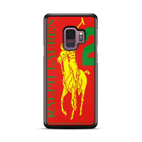 Polo Ralph Lauren Big Pony 2 Red Parfume Samsung Galaxy S9 Plus hoesjes