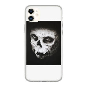 skull face iphone 11 hoesjes