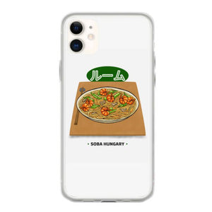 soba hungry shirt funny japanese asian food t shirt slim fit t shirt iphone 11 hoesjes