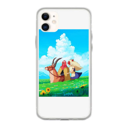 story of san and ashitaka iphone 11 hoesjes