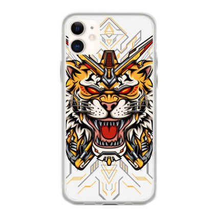 tiger mecha iphone 11 hoesjes