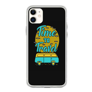 time to travel summer beach iphone 11 hoesjes
