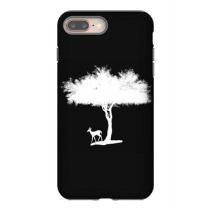 tree and gazelle iphone 8 plus hoesjes