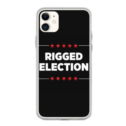 trump 2020 rigged election iphone 11 hoesjes