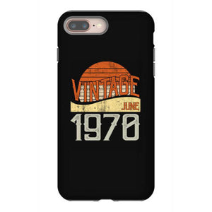 vintage june 1970 iphone 8 plus hoesjes