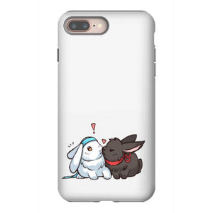 wangxian bunnies iphone 8 plus hoesjes