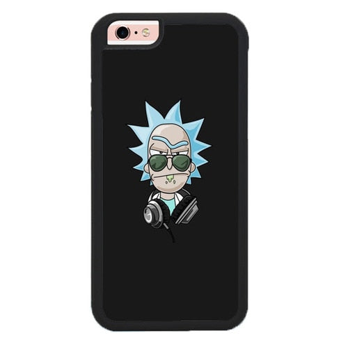 Rick And Morty DJ P1985 hoesjes iPhone 6, iPhone 6S